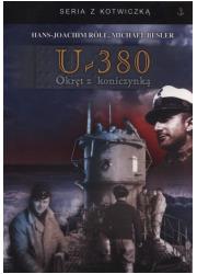 U-380. Okręt z koniczynką. Seria - okładka książki