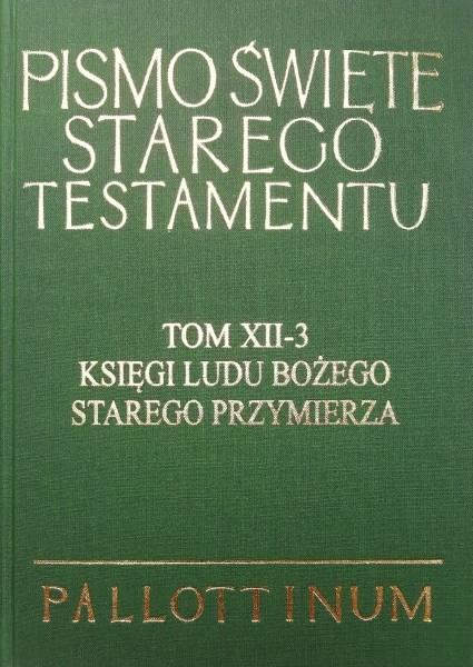 Księgi Ludu Bożego Starego Przymierza - okładka książki