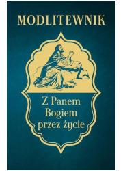 Modlitewnik z Panem Bogiem przez - okładka książki