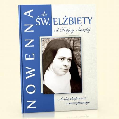 Nowenna do św. Elżbiety od Trójcy - okładka książki