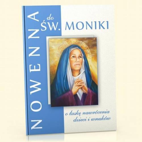Nowenna do św. Moniki - o łaskę - okładka książki