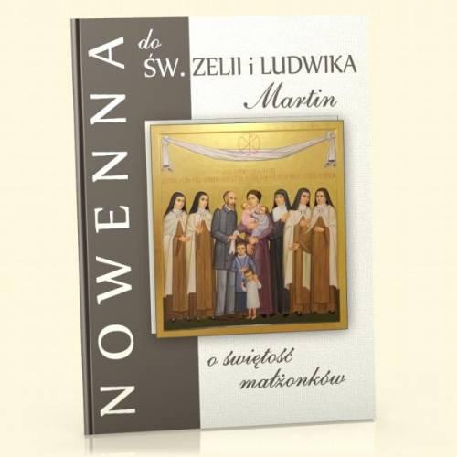 Nowenna do św. Zelii i Ludwika - okładka książki