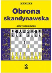Obrona skandynawska - okładka książki