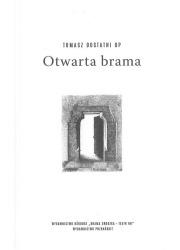 Otwarta brama - okładka książki