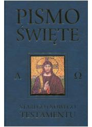 Pismo Święte Starego i Nowego w - okładka książki