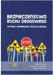 Bezpieczeństwo ruchu drogowego. - okładka książki