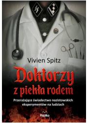 Doktorzy z piekła rodem. Przerażające - okładka książki