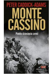 Monte. Cassino Piekło dziesięciu - okładka książki