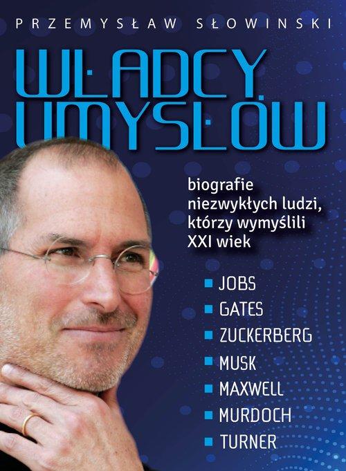 Władcy umysłów. Biografie niezwykłych - okładka książki