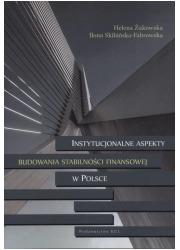 Instytucjonalne aspekty budowania - okładka książki