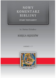 Księga Sędziów. Rozdziały 1-5. - okładka książki