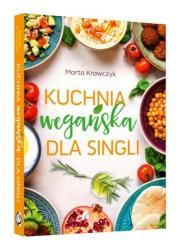 Kuchnia wegańska dla singli - okładka książki