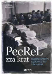PeeReL zza krat. Głośne sprawy - okładka książki