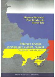 Półwysep Krymski. Strategiczny - okładka książki
