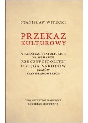 Przekaz kulturowy w parafiach katolickich - okładka książki