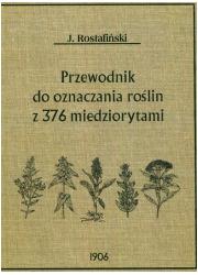 Przewodnik do oznaczania roślin - okładka książki