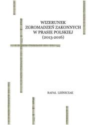 Wizerunek zgromadzeń zakonnych - okładka książki