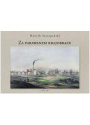 Za parawanem krajobrazu - okładka książki