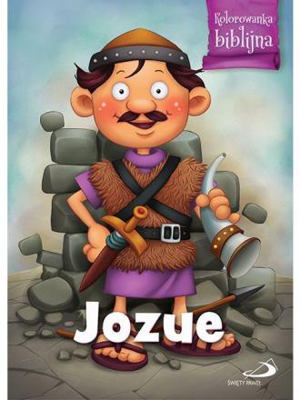 Jozue. Kolorowanka biblijna - okładka książki