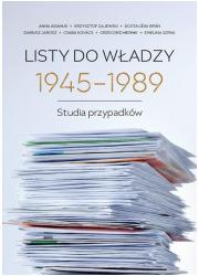 Listy do władzy 1945-1989. Studia - okładka książki