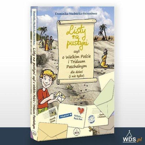 Listy na Pustyni - okładka książki