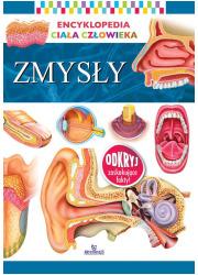 Encyklopedia ciała człowieka. Zmysły - okładka książki