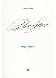 Piękna Litera. Kursywa angielska - okładka książki
