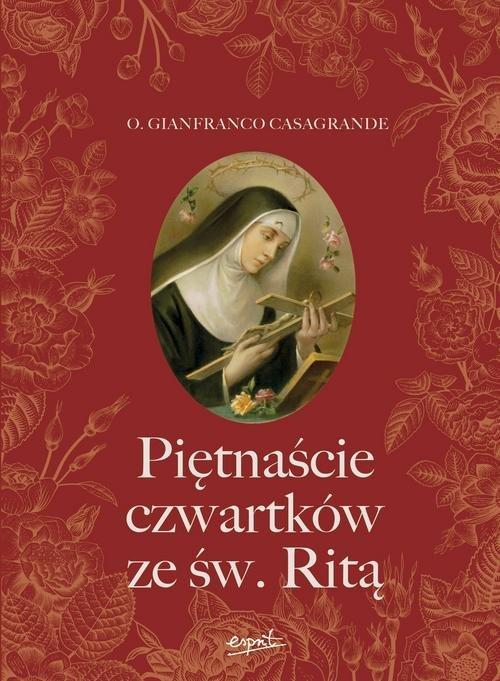 Piętnaście czwartków ze św. Ritą - okładka książki