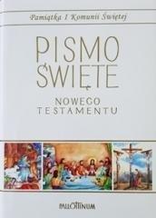 Pismo Święte - NT małe (komunia, - okładka książki