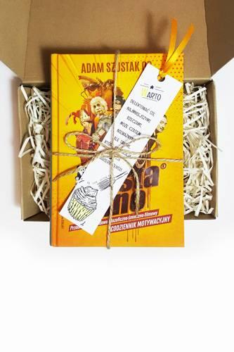 Szusta rano - książka zapakowana - okładka książki