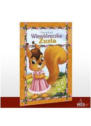 Wiewióreczka Zuzia - okładka książki