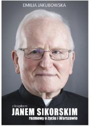 Z księdzem Janem Sikorskim rozmowy - okładka książki