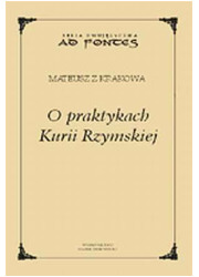 O praktykach Kurii Rzymskiej - okładka książki