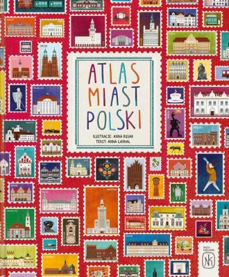 Atlas miast Polski - okładka książki