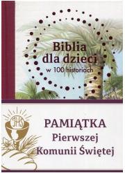 Biblia dla dzieci w 100 historiach. - okładka książki
