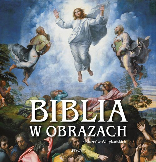 Biblia w obrazach z Muzeów Watykańskich - okładka książki
