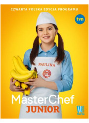 MasterChef Junior. Czwarta polska - okładka książki