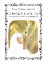O Imeldzie Lambertini patronce - okładka książki