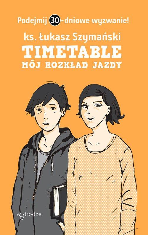 Timetable. Mój rozkład jazdy - okładka książki