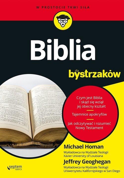 Biblia dla bystrzaków. Seria: W - okładka książki