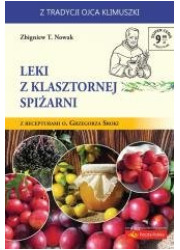 Leki z klasztornej spiżarni - okładka książki