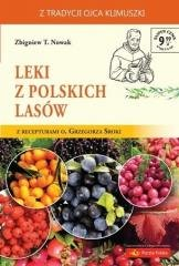 Leki z polskich lasów - okładka książki
