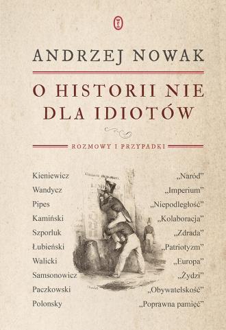 O historii nie dla idiotów - okładka książki