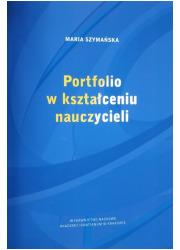 Portfolio w kształceniu nauczycieli - okładka książki