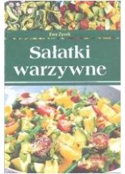 Sałatki warzywne - okładka książki