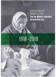 Sto lat władzy lokalnej na polskiej - okładka książki