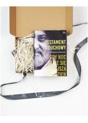 Testament duchowy - książka spakowana - okładka książki
