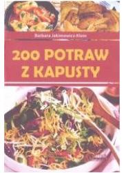 200 potraw z kapusty - okładka książki
