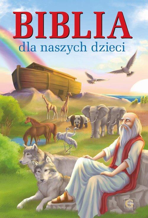 Biblia dla naszych dzieci - okładka książki
