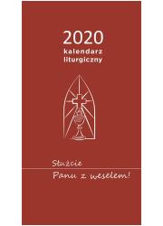 Kalendarz liturgiczny 2020. Służcie - okładka książki